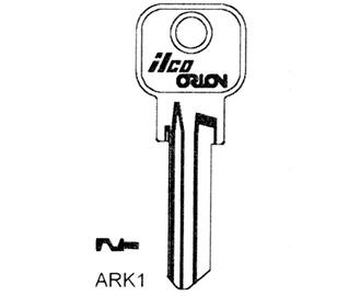 Atslēgas sagatave JMA AEP1(AEP-1D) AEP Steel