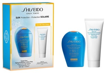 Shiseido Expert Sun Aging Protection Lotion Plus SPF50+ 100ml + 75ml After Sun Intensive Recovery Emulsion