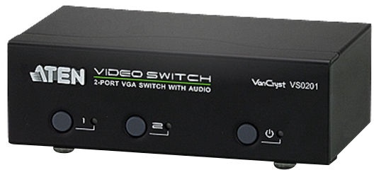 Aten 2-Port VGA/Audio Switch