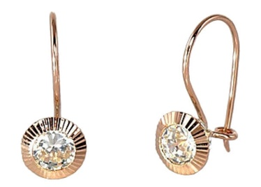 Diamond Sky Gold Earrings Morgana II
