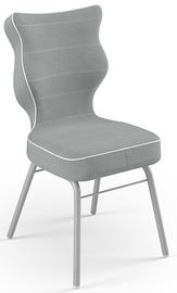 Детский стул Entelo Solo Size 4 JS03, серый, 340 мм x 775 мм