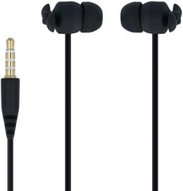 Ausinės Forever CM-370 In-Ear Earphones Black w/ Bag