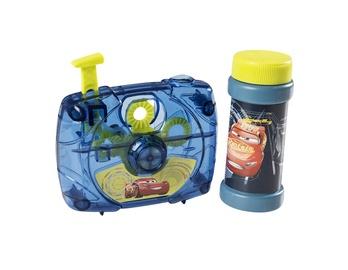 Žaislinis muilo burbulų fotoaparatas Cars, 50 ml
