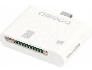 Omega Card Reader Micro USB White