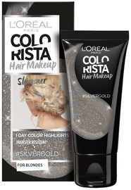 L´Oreal Paris Colorista Hair Makeup Shimmer Silver Gold