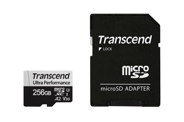 Mälukaart Transcend, Micro SD, 256 GB