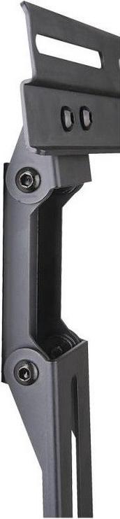 Televizoriaus laikiklis Techly 020683 Adjustable Soundbar Mount VESA Black