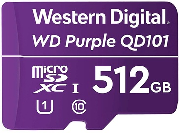 Mälukaart Western Digital WD Purple QD101, 512 GB