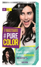 Schwarzkopf Pure Color Hair Color 1.0 Raven Black