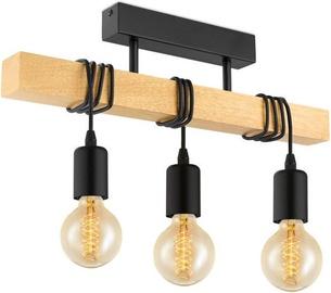 Eglo Townshend 32915 Ceiling Lamp 3x60W E27 Brown/Black