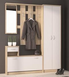 Extom Meble Hallway Unit Iza Sonoma Oak/White
