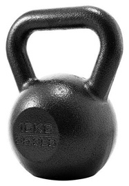 ProIron Solid Cast Iron Kettlebell Black 16kg