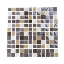 Stiklo mozaikos ruda BSH30, 30x30 cm