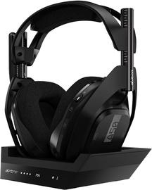 Ausinės Astro Gaming A50 Wireless Dolby 7.1 Black, belaidės