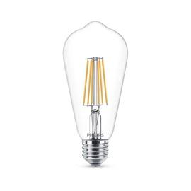 LED lempa Philips ST64, 8W, E27, 2700K, 806lm, DIM