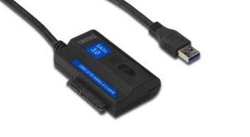 "Digitus USB 3.0 to SATA 2.5""/3.5"" adapter"