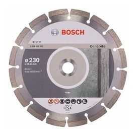 Bosch Concrete Diamond Cutting Disc BPE 230x22.23mm