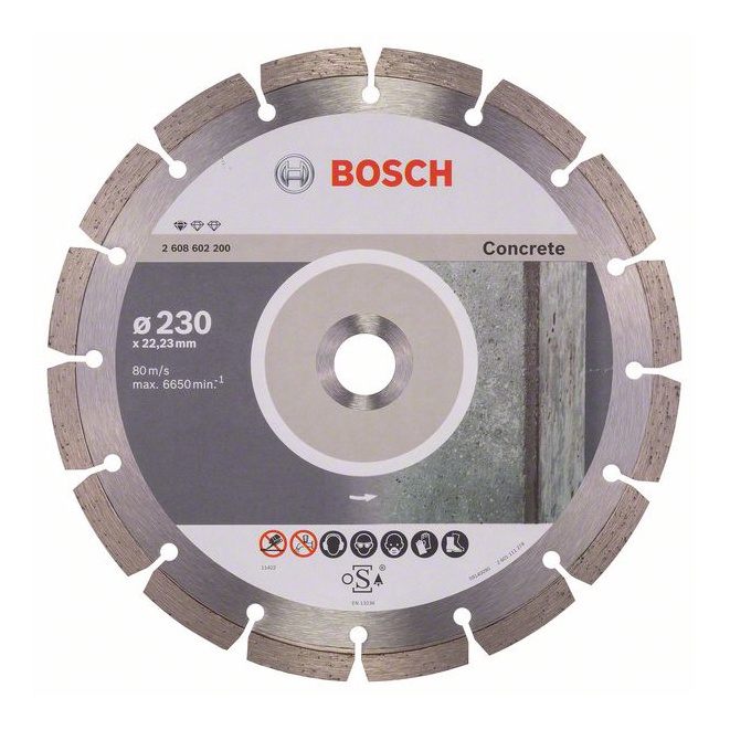 DIMANTA RIPA BETONAM BPE 230X22.23MM (BOSCH)