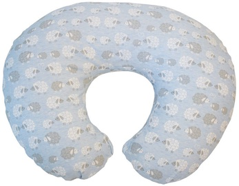 Chicco Boppy Pillow With Cotton Slipcover Soft Sheep
