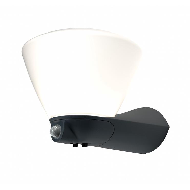 GAISMEKLIS BOWL SENS 7W LED IP44 DG (OSRAM)