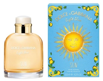 Tualetes ūdens Dolce & Gabbana Light Blue Sun Pour Homme, 125 ml EDT