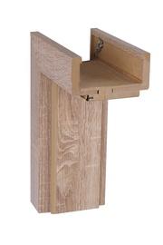 Reguliuojama stakta 100-140, sonoma ąžuolo, horizontali 80cm