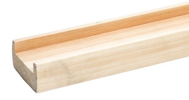 Sigulda Woodworking Stair Post Base Rail NB380 Oak