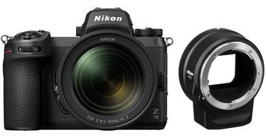 Süsteemne fotoaparaat Nikon Z 7 II + Nikkor Z 24-70mm F/4 S + FTZ Mount adapter