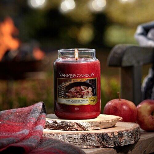 Свеча Yankee Candle Large Jar Candle Crisp Campfire Apples 623g