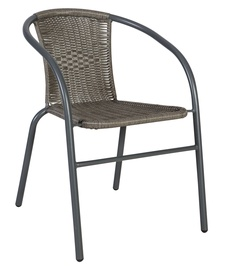 Home4you Bistro Garden Chair Grey