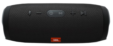 Belaidė kolonėlė JBL Charge 3 Waterproof Portable Bluetooth Speaker Black