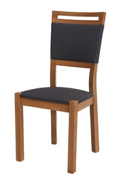 Black Red White Arosa Chair Walnut