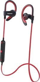 Ausinės ipipoo iL98BL Bluetooth In-Ear Earphones Red
