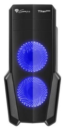 Natec Titan 800 Midi Tower Blue/Black