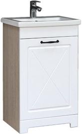 Шкаф для ванной MN Kantri 50 465x800x382mm White