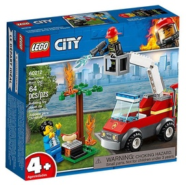 Konstruktorius Lego City Fire Barbecue Burn Out 60212, nuo 4 m.