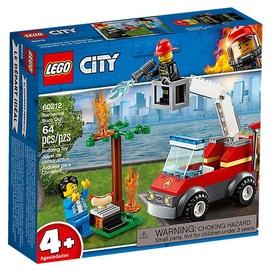Konstruktorius LEGO® City 60212 Kepsninės gaisras
