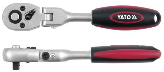 Yato YT-0327 Quick Realease Articulated Ratchet Handle 1/2'' 290mm