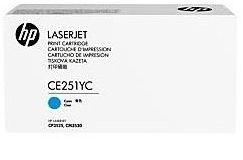 Lazerinio spausdintuvo kasetė HP CE251YC Cyan