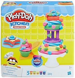Hasbro Play-Doh Kitchen Creations Frost 'n Fun Cakes B9741