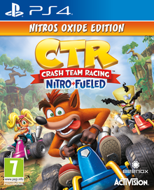 Žaidimas Crash team racing Nitro-fueled PS4