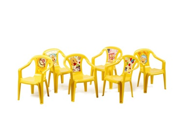 Home4you Baby Chair Disney Winnie Pooh Yellow