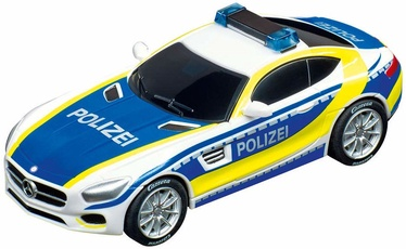 Carrera GO!!! Slot Car Mercedes-A MG GT Coupe Police 64118