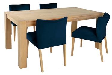 Valgomojo komplektas Home4you Turin K269065 Blue Brown
