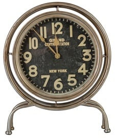Home4you NEW YORK Table Clock Antique Gold