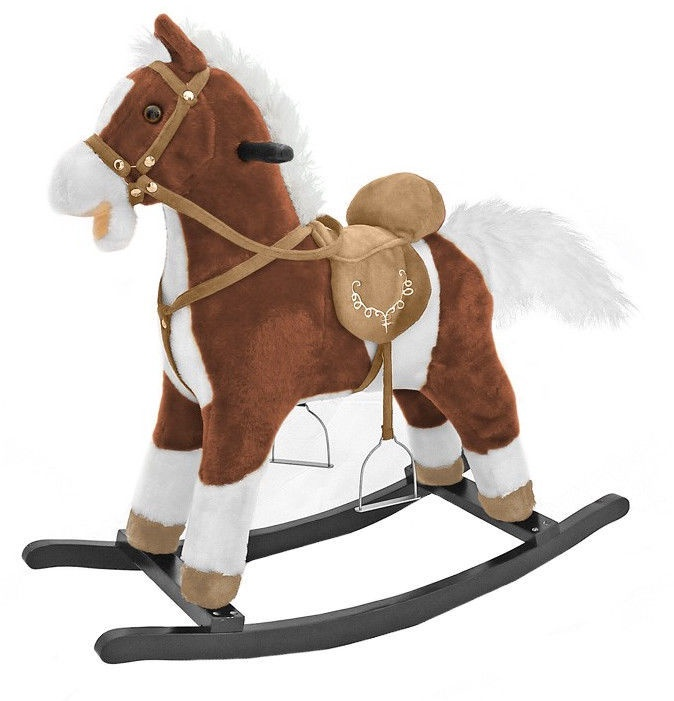 Milly Mally Rocking Horse Mustang Dark Brown 4157