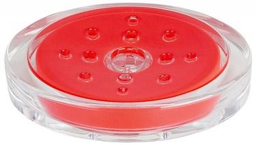 Spirella Soap Dish Sydney Acrylic Red