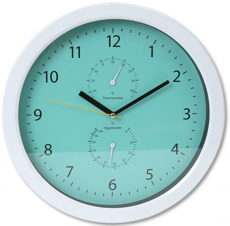Platinet Summer Wall Clock 42573 Green