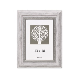Nuotraukų rėmelis Natali, pilka, 13 x 18 cm