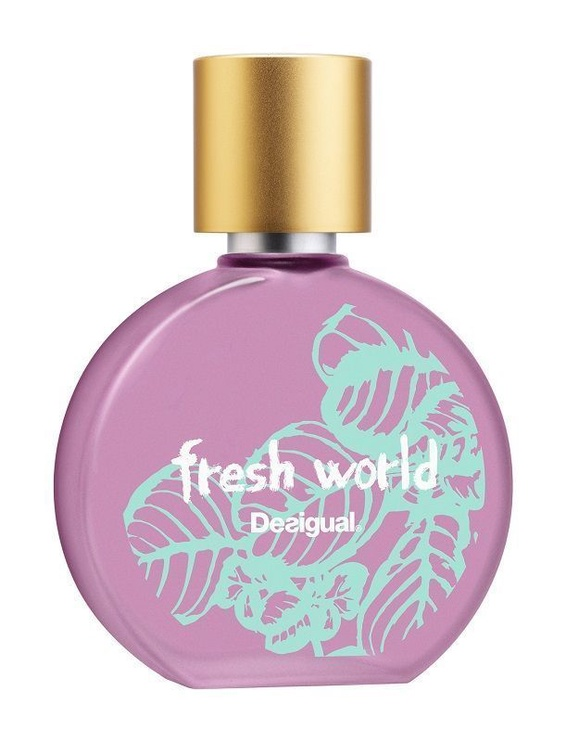 Набор для женщин Desigual Fresh World 100 ml EDT + Cosmetic Bag